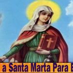 Oración a Santa Marta Para El Amor
