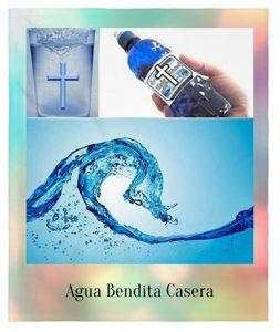 como hacer agua bendita en casa